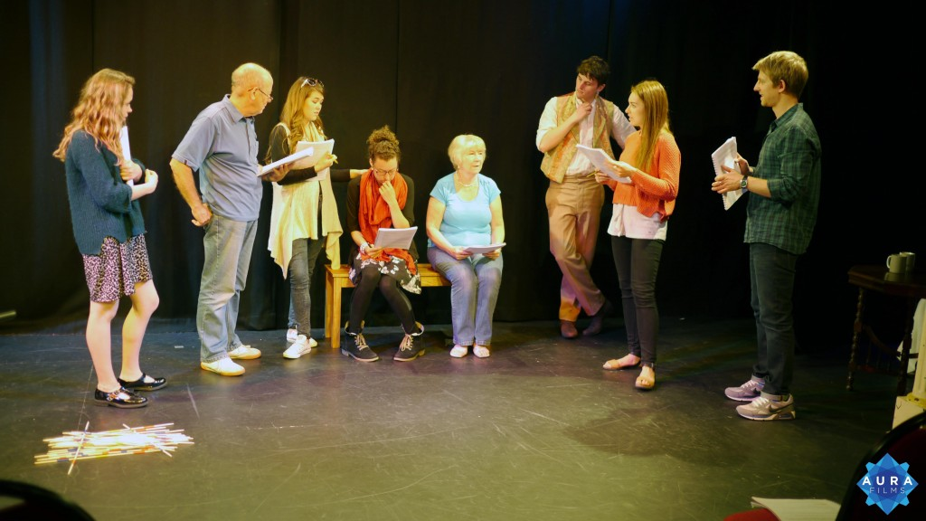 Rehearsals of Sanditon The Play