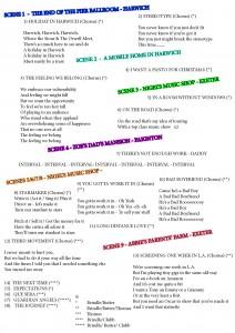 Chorus Sheet