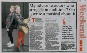 """Auditions The Musical"" Press Coverage"