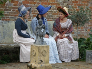 4 Charlotte, Felicity and Clara tell each other their life stories. Felicity tells the others her harrowing story of how she will inherit the slave plantation in Antigua.